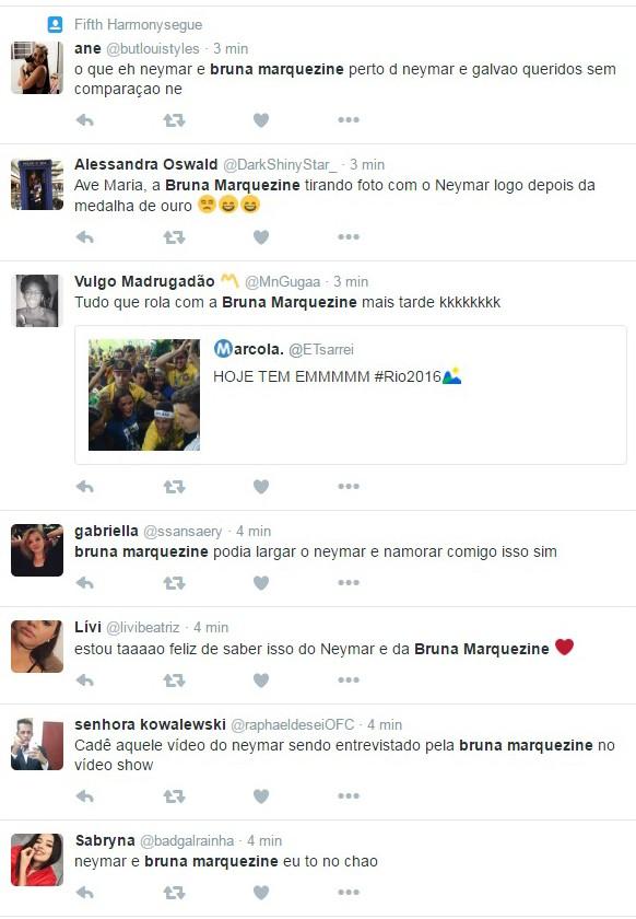 Internautas torcem por retorno de 'Brumar' (Foto: Reprodução/Twitter)