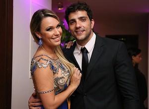 Marien Carretero e o também ex-BBB Junior Gianetti (Foto: Isabella Pinheiro/Gshow)