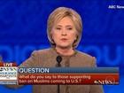 Trump responde aos ataques de Hillary Clinton em debate nos EUA