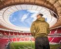 Embaixador da NFL no Brasil, Cairo Santos dá palestras e treinos no país