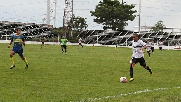 Jogador do Rio Negro, Maranhão (Foto: Aldrin Pontes)