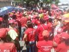 Quase 600 pessoas participam de ato contra impeachment de Dilma em SE