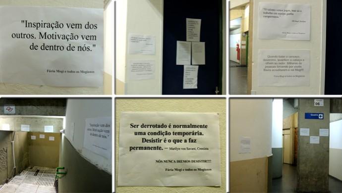 Placas incentivo torcida Mogi das Cruzes Basquete NBB (Foto: Artes GloboEsporte.com)