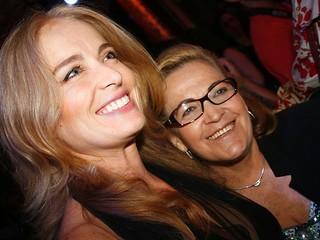 Angélica e a mãe, Angelina (Foto: Lourival Ribeiro/ Ag. News)