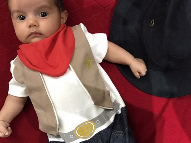 Artur, filho caçula de Kelly Key (Foto: Instagram/ Reprodução)