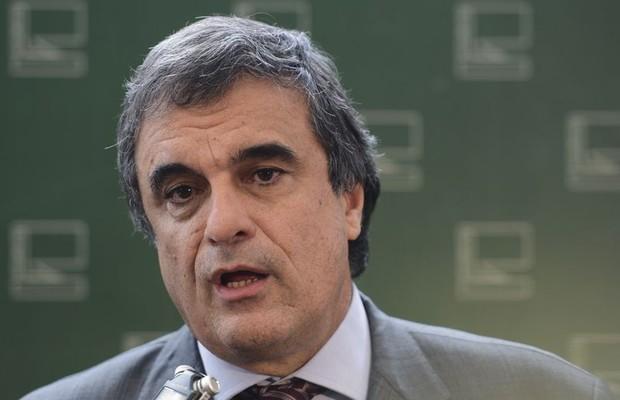 Eduardo Cardozo se reuniu com líderes partidários (Foto: Antonio Cruz/ Agência Brasil)