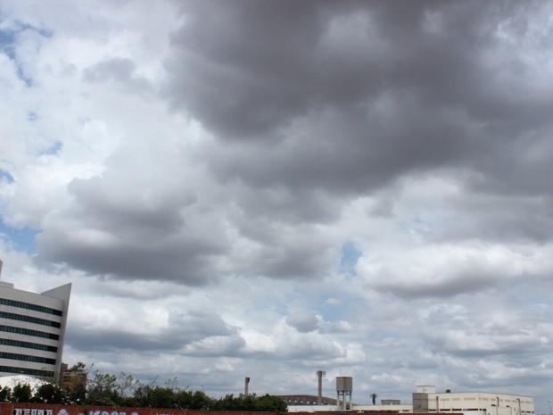 Previsão de chuva no Piauí (Foto: Catarina Costa/G1 PI)