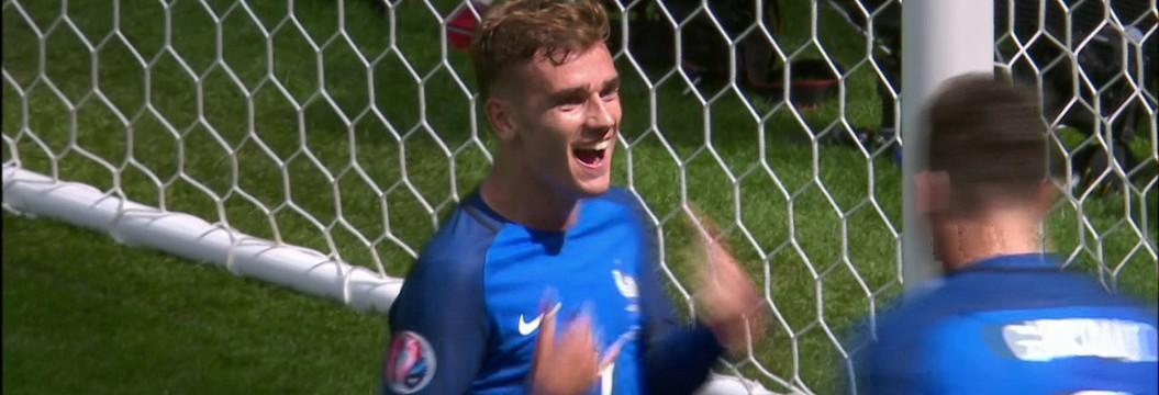 Os gols de França 2 x 1 Irlanda pelas oitavas de final