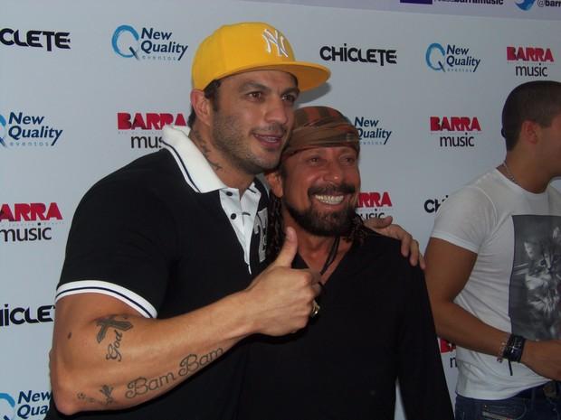 Ex-BBB Kléber Bambam e Bell Marques (Foto: Divulgação)
