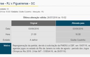 Sem Edson Passos em agosto, Flu consegue adiar jogo contra o Figueira