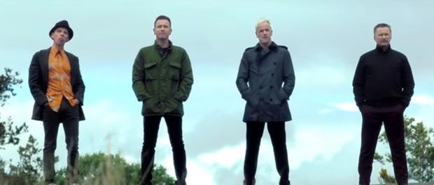 Ewan McGregor, Ewen Bremner, Jonny Lee Miller e Robert Carlyle em teaser de 'Trainspotting' (Foto: Reprodução/YouTube/Sony)