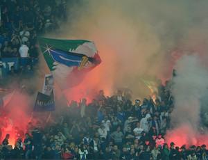 torcida Inter de Milão (Foto: AFP)
