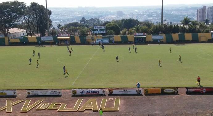 XV de Jaú x Grêmio Prudente Segundona (Foto: Luciano Sanches / Rádio Comercial AM / Cedida)