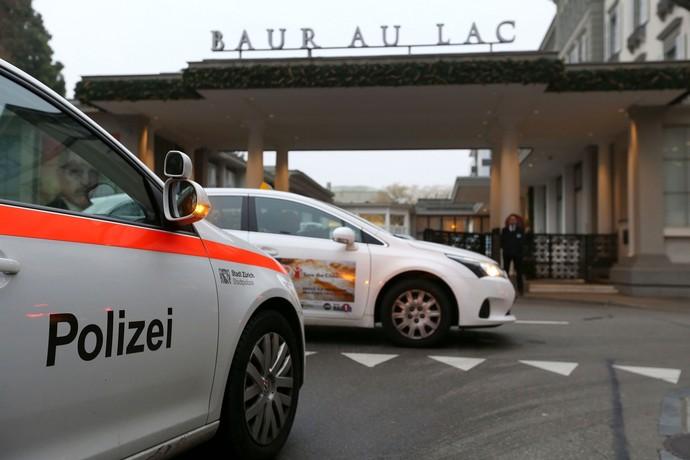 Fifa Bar Au Lac hotel Zurique (Foto: AFP)