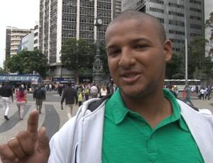 torcedor do botafogo (Foto: Thiago Correia / GLOBOESPORTE.COM)