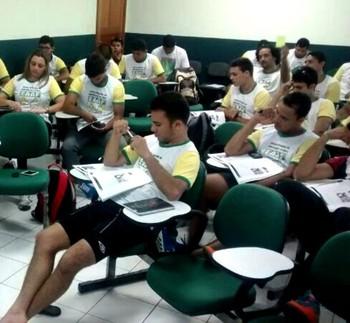 Escola de arbitragem do  Acre (Foto: Rodomilson Lucas/Arquivo Pessoal)