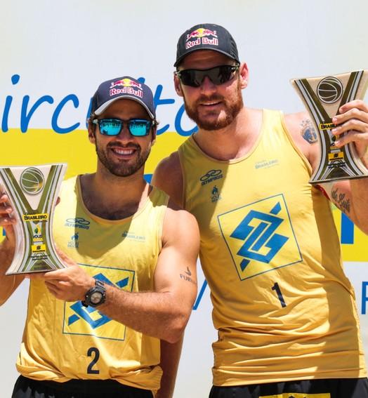 campeões (Matheus Vidal/CBV)