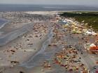 Praias do Pará têm previsão de tempo nublado para a virada de ano