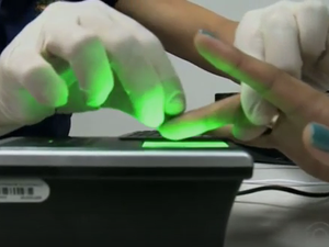 biometria joinville (Foto: Reprodução/RBSTV)