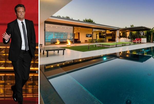A casa colocada a venda pelo ator Matthew Perry (Foto: Getty Images/Divulgação)
