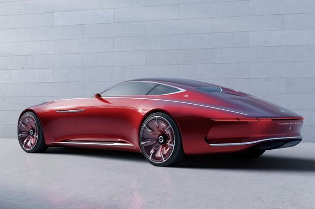 Mercedes-Maybach Vision 6 lateral (Foto: Reprodução)