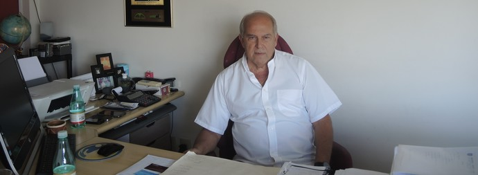 elias duba, presidente do madureira (Foto: Hector Werlang)