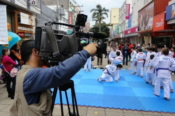 RBS Esporte mostrou a mistura do judô com o tango (Foto: Divulgação/RBS TV)