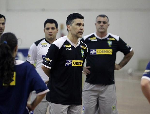 Marcos Sorato futsal feminino (Foto: Zerosa Filho/CBFS)