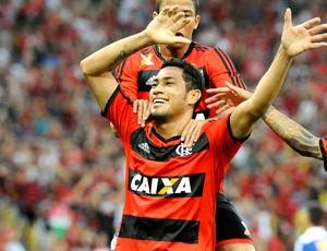 Hernane gol jogo Flamengo e Cruzeiro (Foto: Alexandre Vidal / Fla Imagem)