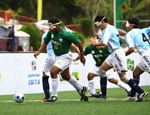 Dudu futebol de 5 (Foto: Divulgação / CBDV)