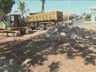 Base da PM desativada é demolida no bairro Vila Sônia em Piracicaba, SP