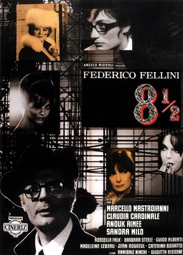 8 ½ (1963) - Federico Fellini (Foto: Divulgação)