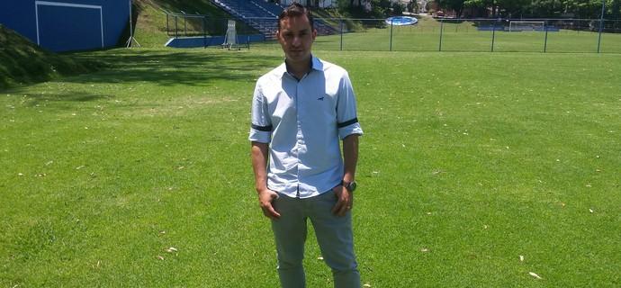 Klauss Câmara, diretor das categorias de base do Cruzeiro (Foto: Marco Astoni)