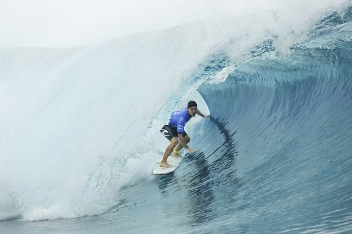 Gabriel Medina ficou em terceiro na etapa do Taiti (Foto: Divulgação)