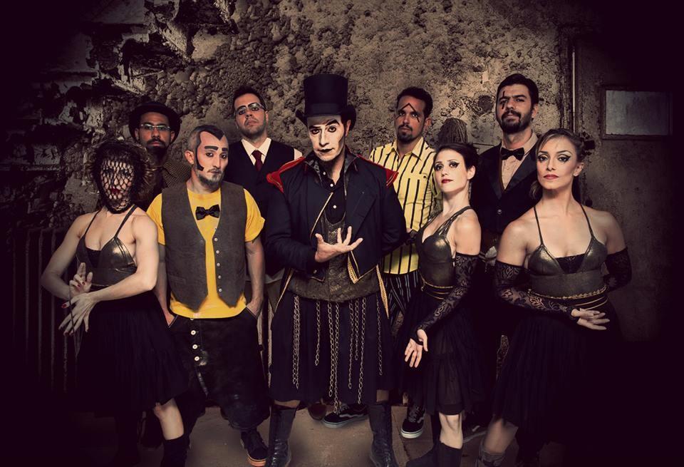 Grupo mistura música, arte e teatro (Foto: Luiz Augusto Rodrigues)