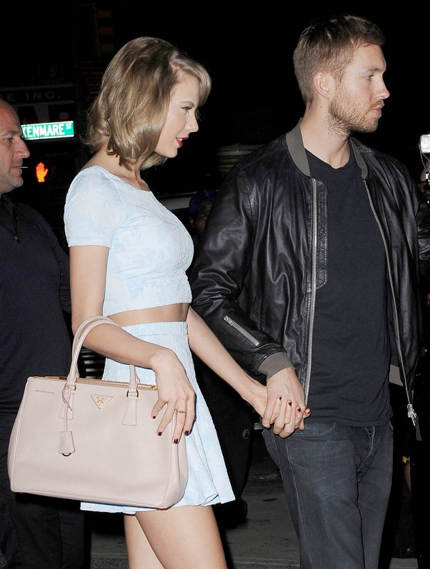Taylor Swift e Calvin Harris (Foto: Startraks Photo/The Grosby Group)