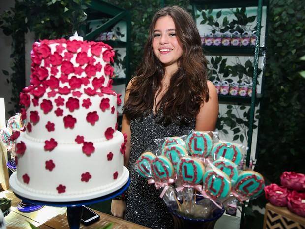 Lolle Pinheiro, a aniversariante (Foto: Manuela Scarpa/Brazil News)