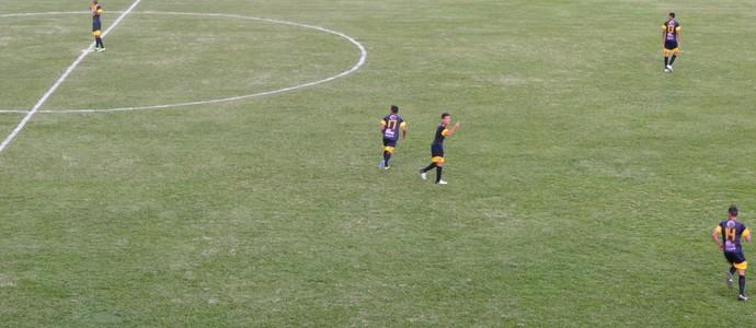 São Carlos bate o Fluminense-BA pela Copa São Paulo (Foto: Angelo Tedeschi)