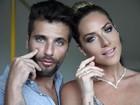 Bruno Gagliasso faz pose divertida em foto que imita Giovanna Ewbank