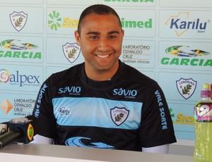 Claudir atacante Londrina (Foto: Pedro A. Rampazzo/Site oficial do Londrina)
