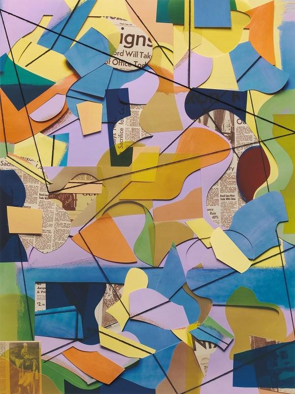 """""""Letter rack"""", uma das obras de Vik que estará em exposição na nova mostra do artista  (Foto: Reprodução/ Vik Muniz)"""