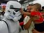 'Que a Força esteja com você' - fãs celebram dia do Star Wars