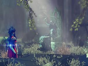 Como Criança da Lua, jogador deve enfrentar monstros e resolver quebra-cabeças em 'Toren' (Foto: Divulgação/Swordtales)