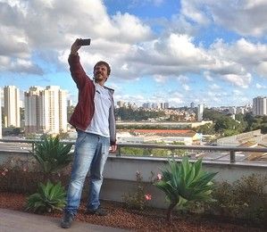 Foto da selfie: tudo sob controle (Foto: Liuca Yonaha)