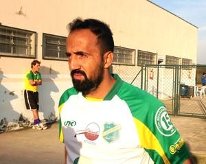 Luiz Henrique, meia, XV de Jaú, Segunda Divisão (Foto: Natália de Oliveira)