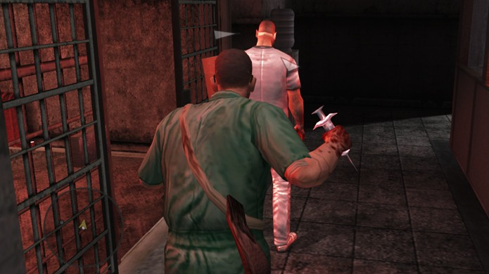 Manhunt 2 tem execuções extremamente violentas e gerou polêmica no Nintendo Wii (Foto: Reprodução/Soul Geek)