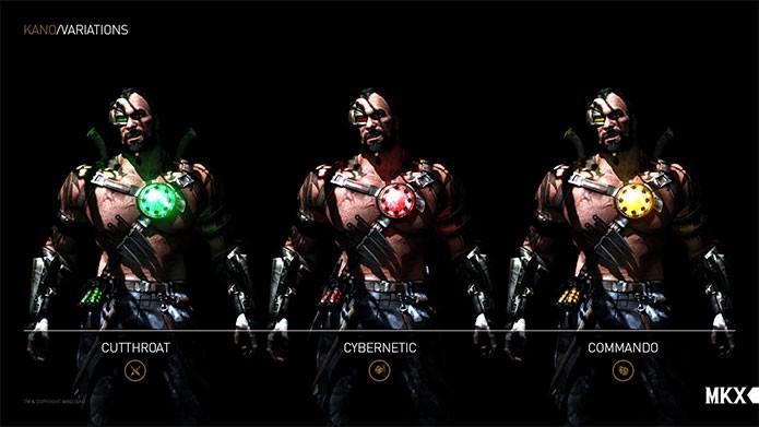Cada lutador terá três estilos de luta em MKX (Foto: Divulgação)