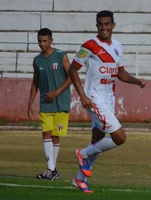 Caíque é o artilheiro do Botafogo, com oito gols (Foto: Rogério Moroti/Ag. Botafogo)