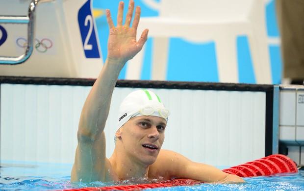 natação Cesar Cielo limpíadas 2012 (Foto: AFP)