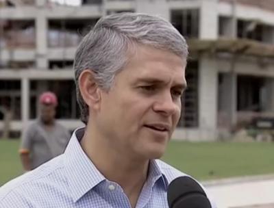 Presidente do Fluminense, Peter Eduardo Siemsen (Foto: Reprodução SporTV)